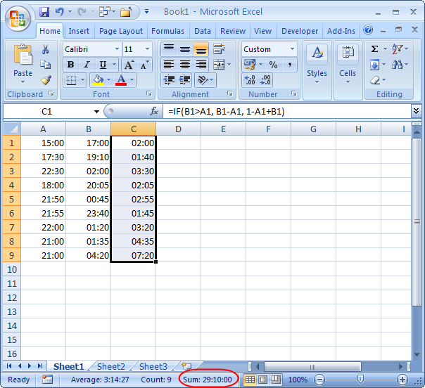 Excel difference between two dates in Brisbane